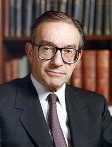 Alan Greenspan, 13th Chairman of the Federal Reserve