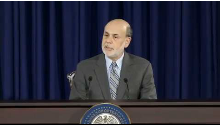Ben Bernanke, Federal Reserve Chairman, at the FOMC Press Conference
