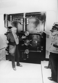The Fort Knox vault c.1974 Photo courtesy Numismatic News