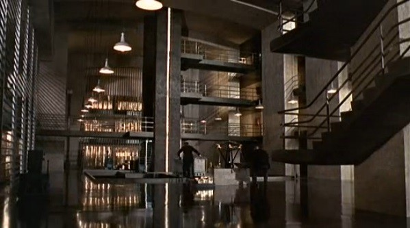 Fort Knox as depicted in James Bond's Goldfinger Photo courtesy United Artists