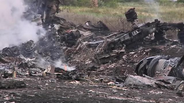 Malaysian air crash in Ukraine
