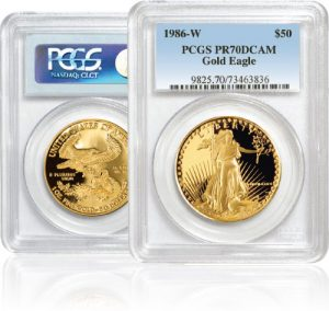 1 oz. Fine Gold Eagle Coins