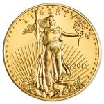 1 oz. Gold American Eagle Coin, View of Front