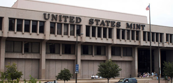 Exterior view of the largest U.S. Mint facility in Philadelphia