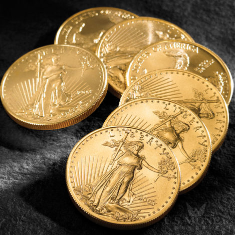 American Eagle Mint State Gold