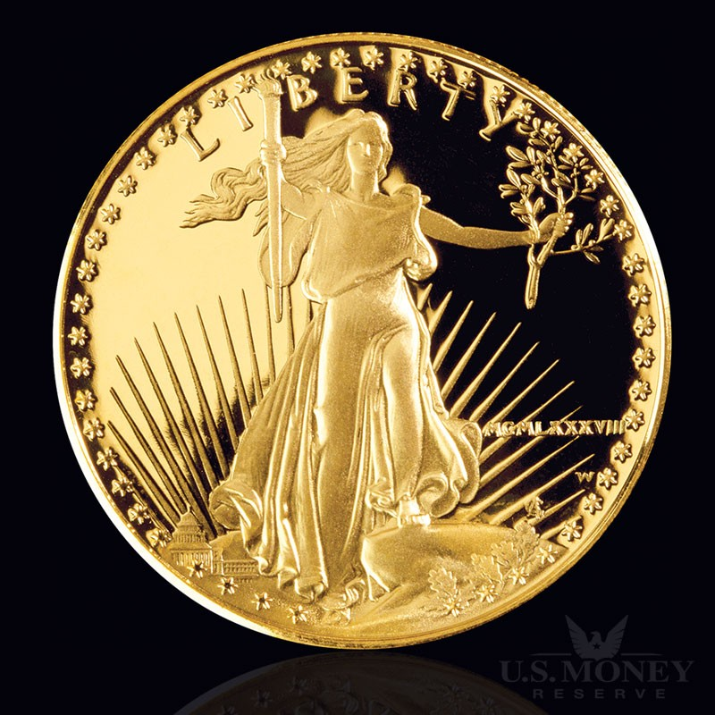 Roman Numeral Gold Proof Coin