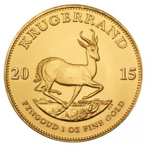 1 oz. Gold South African Krugerrand Coin