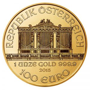 1 oz. Gold Austrian Philharmonic Coin