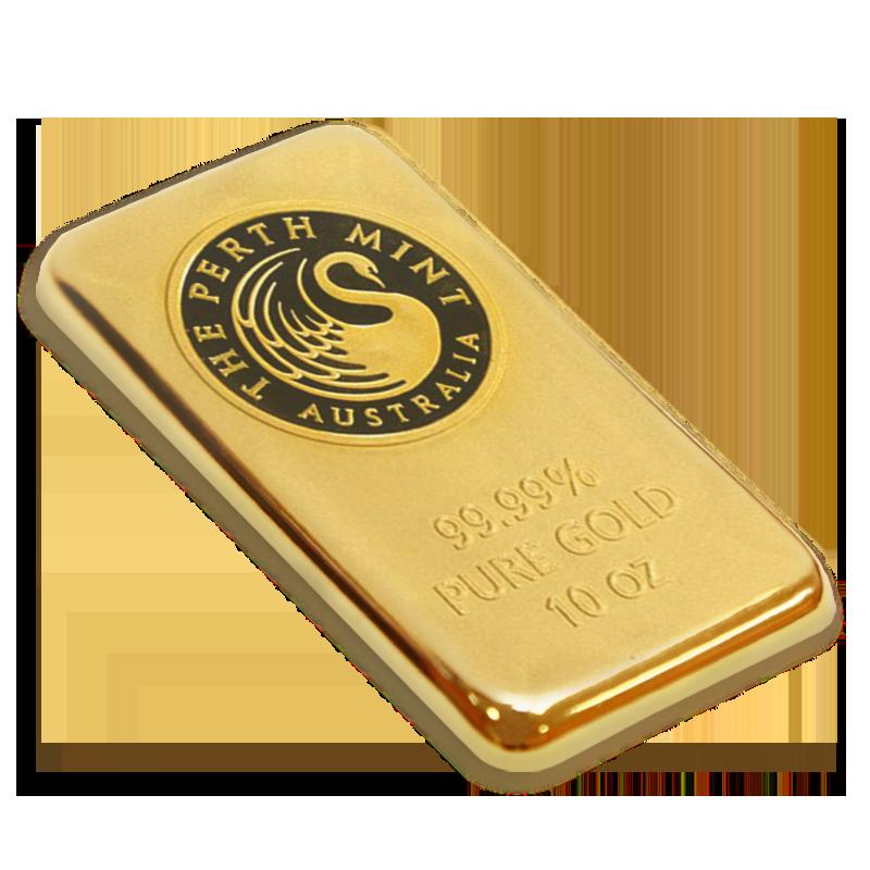 10 oz Silver Bar SKU #59484 Perth Mint