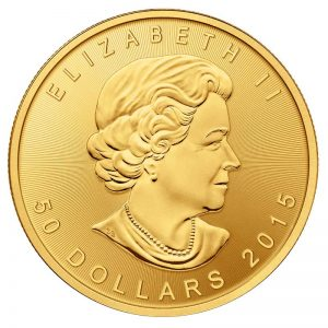 1 oz. Gold Canadian Gold Maple Leaf Coin