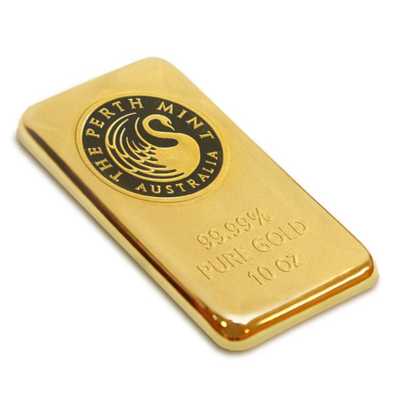 Buy 10 Oz Gold Bar Perth Mint Gold Bars U S Money