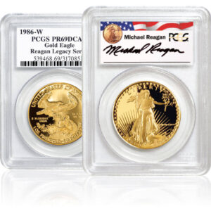 Proof Gold American Eagle Coins, Reagan Legacy Series