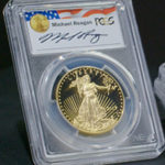 Proof Gold American Eagles Reagan Series
