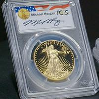 Proof Gold American Eagles Reagan Series