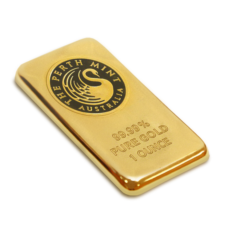 Buy 1 Oz Gold Bar Perth Mint Shop Gold Bars U S
