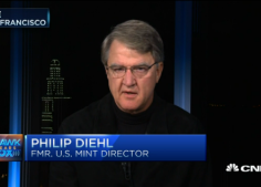 Philip Diehl on CNBC as shares his thoughts about ending the minting of the penny