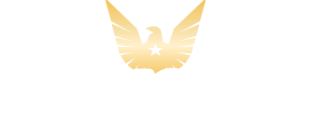 USMR gold eagle with star in center