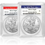 2013 Silver Eagle Coin featuring Lady Liberty
