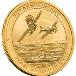 Pearl Harbor Gold Bullion Coin Exclusive to U.S. Money Reserve