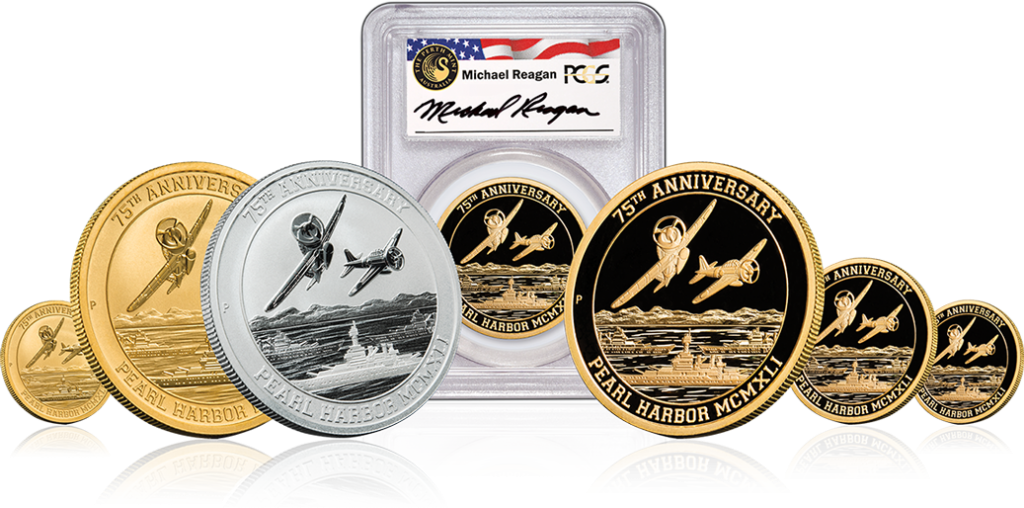 Pearl Harbor Gold Coin Series exclusive to U.S. Money Reserve