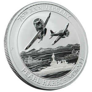 75th Anniversary Pearl Harbor Silver Bullion