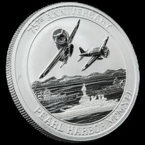 75th Anniversary Pearl Harbor Silver Bullion