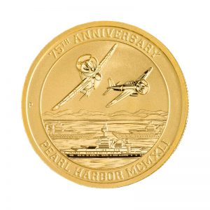 1/10 oz Pearl Harbor Gold Coin