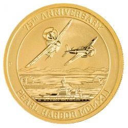 1 oz Pearl Harbor Gold Coin