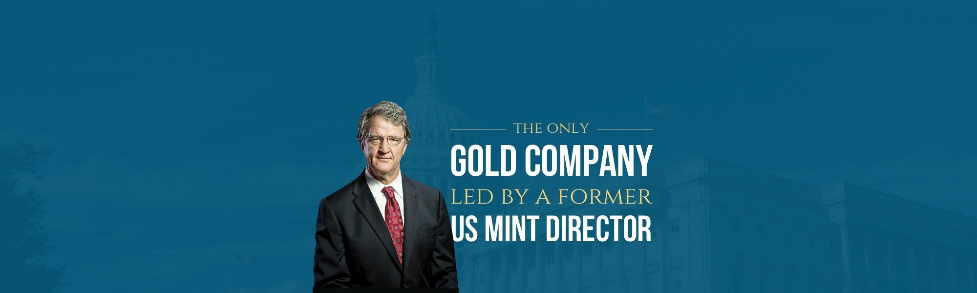 gold company lef by former US mint director