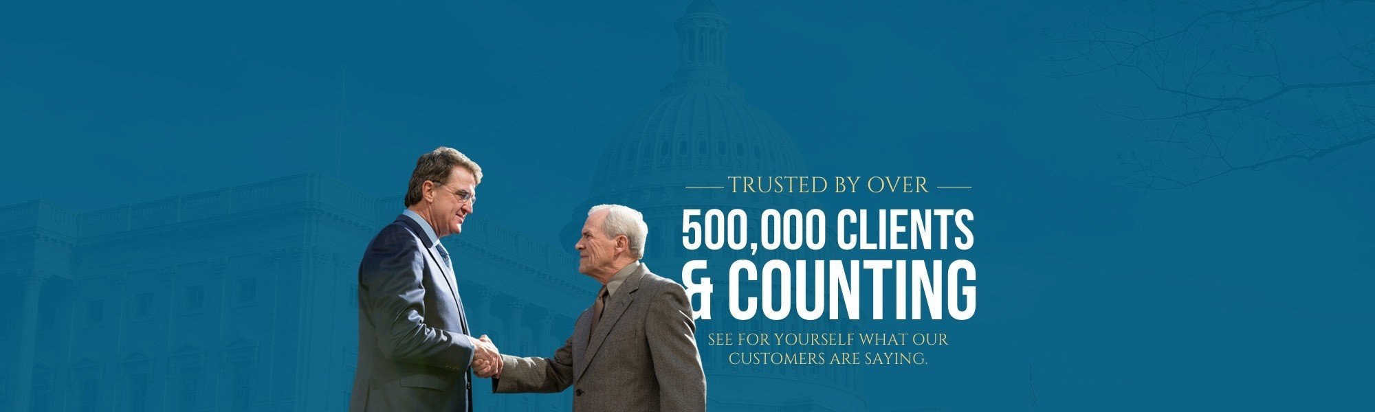500,000 clients and counting