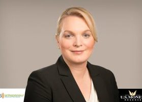 Headshot of Angela Koch, CEO of U.S. Money Reserve