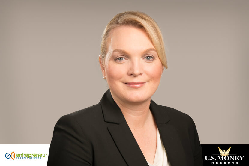 Headshot of Angela Koch, CEO of U.S. Money Reserve