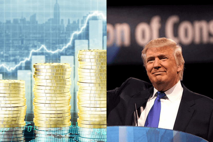Gold prices increasing on Trump victory