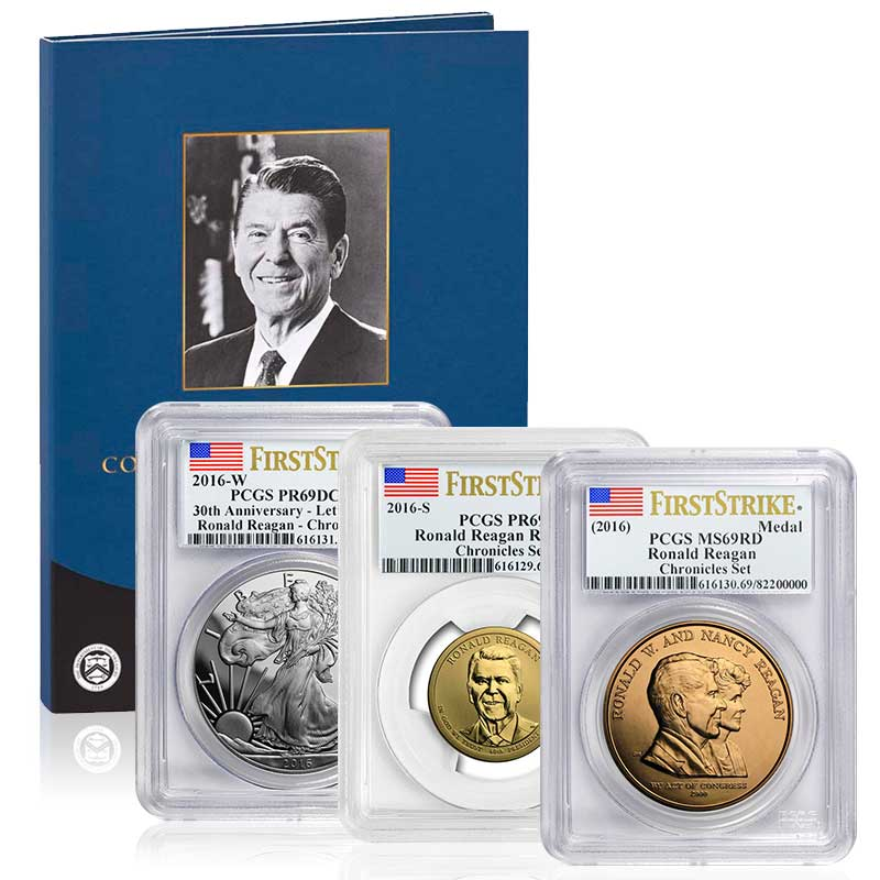 Buy 2016 Ronald Reagan Coin Amp Chronicles Set U S Money