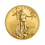 2017 Gold American Eagle front