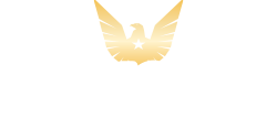 U.S. Money Reserve logo with Gold Eagle with a star on its chest