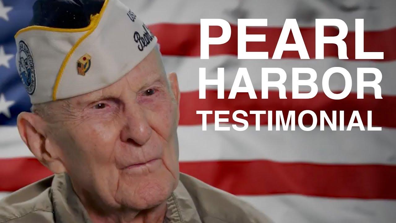 Pearl Harbor Testimonial
