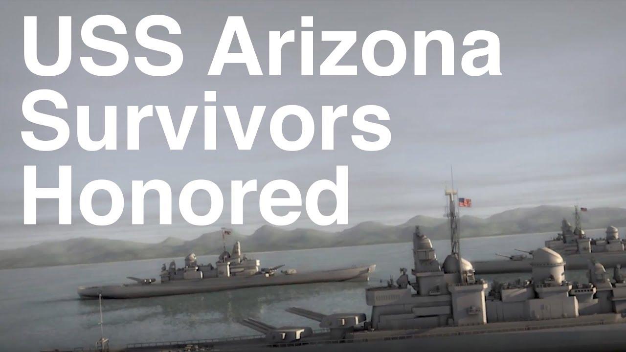 USS Arizona Survivors Honored