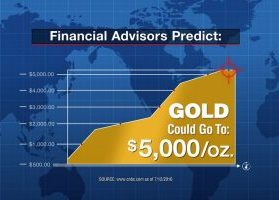 Financial advisors predict gold could go to $5,000/oz.