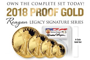 2018 Proof American Eagle Gold Coin Set