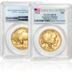 2017 1 oz. Gold American Buffalo Coin MS70 in First Day of Issue PCGS case