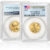 2018 1/4 oz. Gold American Eagle Coin MS70 in plastic sealed PCGS case with First Strike label