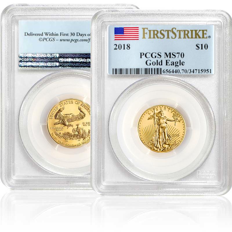 2018 1 4 Oz Gold American Eagle Ms70