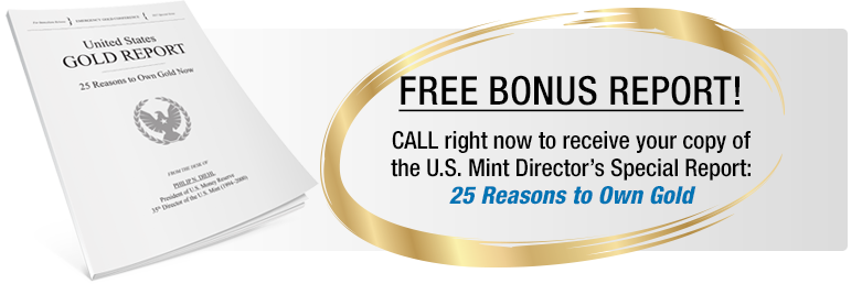 free bonus report advertisement with gold ring surrounding it