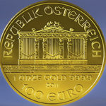 1 oz. Austrian Gold Philharmonic