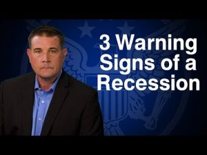 3 Warning Signs of a Recession