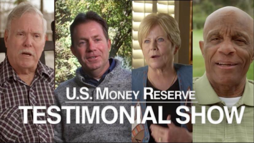 U.S. Money Reserve Testimonial Show