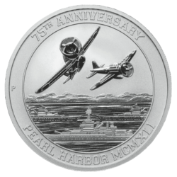 U.S. Money Reserve Silver Pearl Harbor Coin