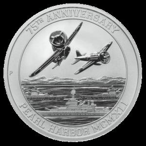 U.S. Money Reserve Silver Pearl Harbor Coin