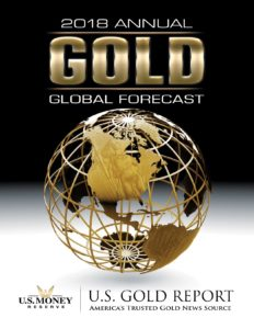 Picture of printed copy of 2018 Annual Gold Global Forecast